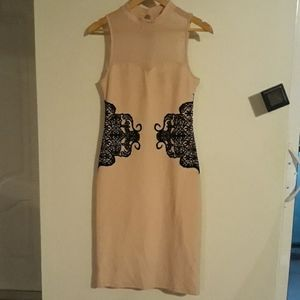 Material girl perfect condition midi dress.